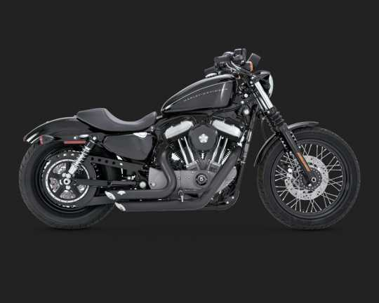Vance & Hines Vance & Hines Shortshots Staggered, black  - 18000752