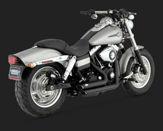 Vance & Hines Vance & Hines Shortshots Staggered, black  - 18000793