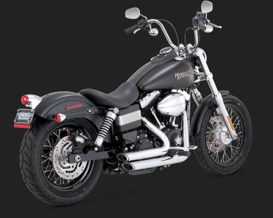 Vance & Hines Vance & Hines Shortshots Staggered, Chrom  - 18001416