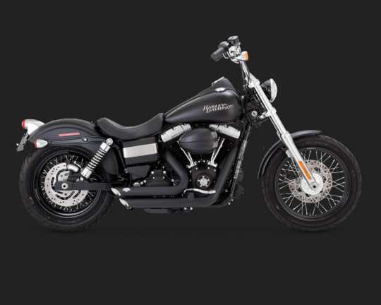 Vance & Hines Vance & Hines Shortshots Staggered, black  - 18001417