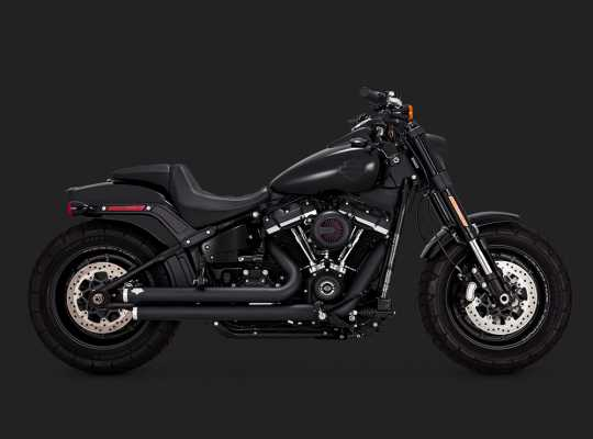 Vance & Hines Vance & Hines Big Shots Staggered black  - 18002392