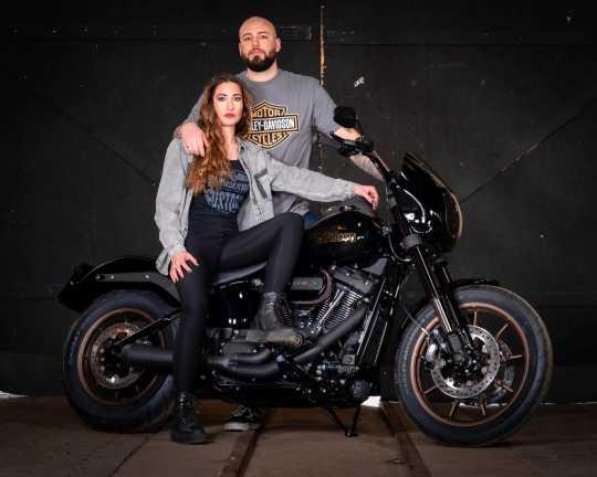 H-D Motorclothes Harley-Davidson T-Shirt Bar & Shield grau L - 5504-CIKQ-L