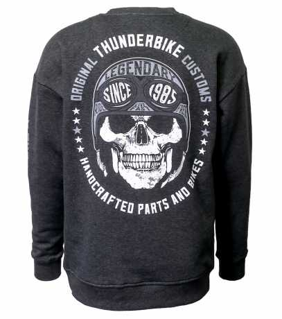 Thunderbike Clothing Thunderbike Sweatshirt Legendary grey  - 19-30-1253V