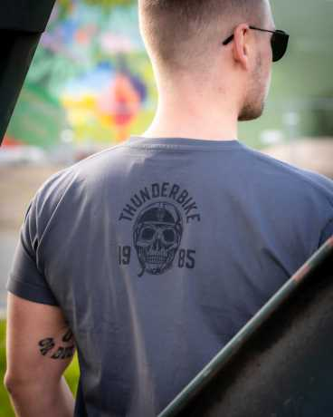 Thunderbike Clothing Thunderbike T-Shirt Ride Till Death grau  - 19-31-1243V