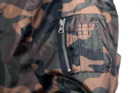 Thunderbike Clothing Thunderbike Street Bomber Jacket, wood camo  - 19-60-100V