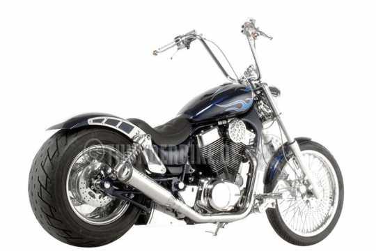 Thunderbike Battery cover steel polished left (without hole) - 22-00-040