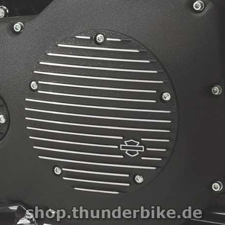 Harley-Davidson Derby Cover Black Fin  - 25454-01