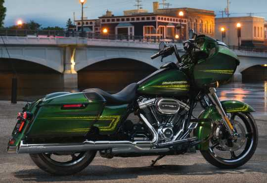 Harley-Davidson Defiance Getriebe Side Cover schwarz cut  - 25800065