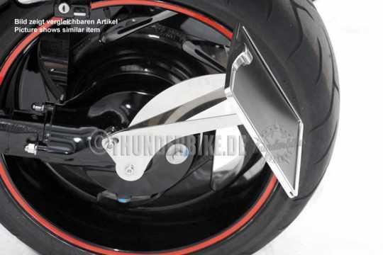 Thunderbike Seitlicher Kennzeichenhalter lang  - 28-01-033V