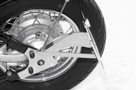 Thunderbike Side Mount Licence Plate Bracket long black - 28-41-030