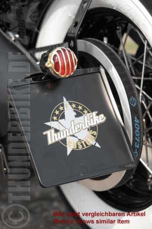 Thunderbike Side Mount Licence Plate Bracket short  - 28-70-040V