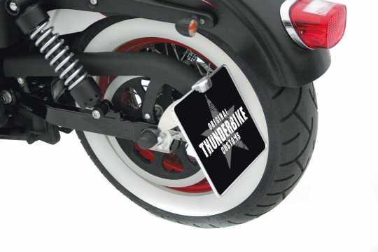 Thunderbike Side Mount Licence Plate Bracket long  - 28-70-170V