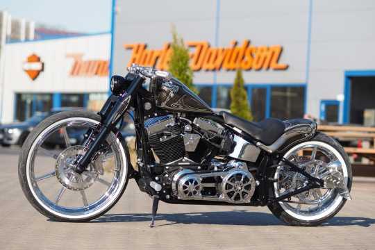 Thunderbike Seitlicher Kennzeichenhalter kurz  - 28-70-180V