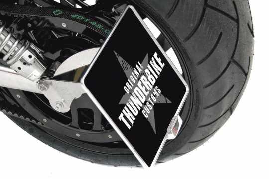 thunderbike seitlicher kennzeichenhalter f r vrsc v rod. Black Bedroom Furniture Sets. Home Design Ideas
