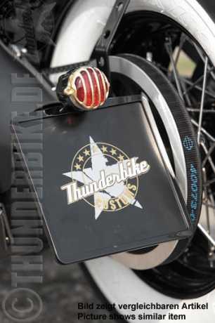 Thunderbike Seitlicher Kennzeichenhalter, kurz  - 28-73-030V