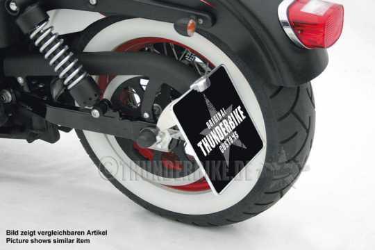 Thunderbike Seitlicher Kennzeichenhalter lang  - 28-73-050V