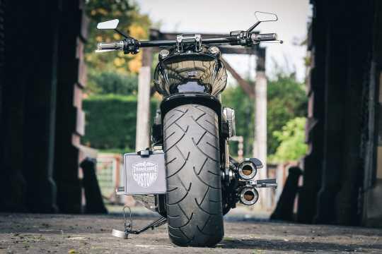 Thunderbike Seitlicher Kennzeichenhalter medium poliert - 28-74-020