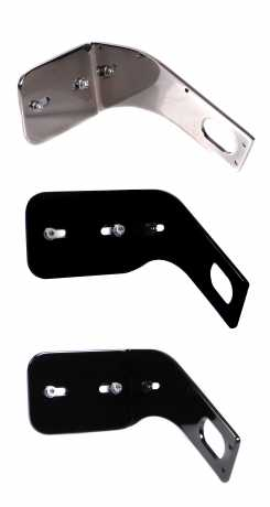 Thunderbike Side Mount Licence Plate Bracket medium black - 28-75-180