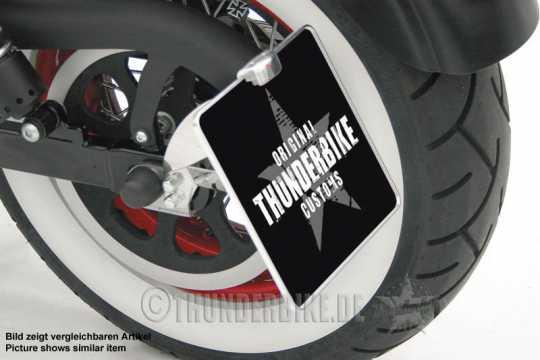 Thunderbike Seitlicher Kennzeichenhalter lang  - 28-76-011V