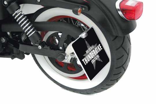 Thunderbike Seitlicher Kennzeichenhalter lang  - 28-76-030V