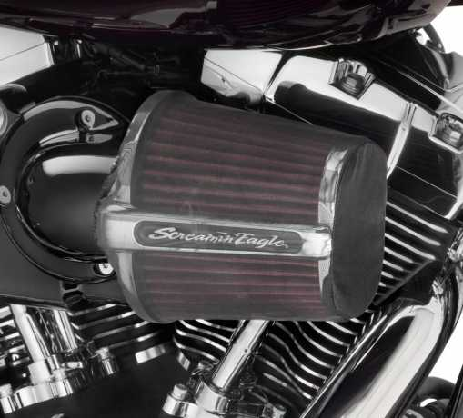 Harley-Davidson Screamin' Eagle Heavy Breather Elite Performance Luftfilter Kit, schwarz  - 29400172