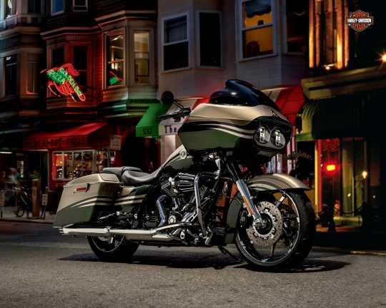"Harley-Davidson Agitator Custom-Rad 18"" Vorn Kontrastchrom  - 40268-10"
