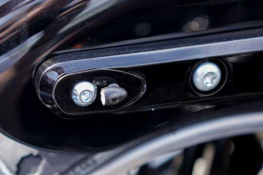 Thunderbike Turn Signal Bracket Strut rear black | M8 - 41-74-050