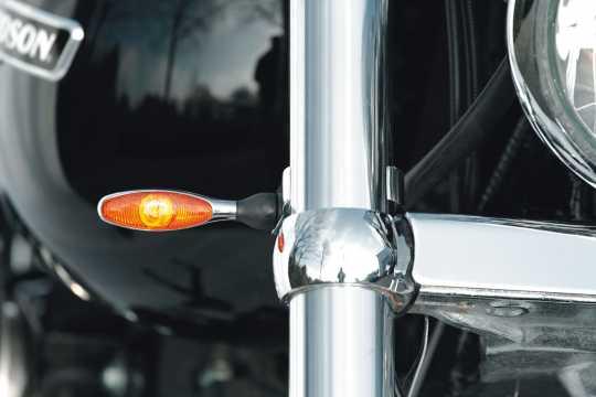 Thunderbike Turn signal adapter Quicky M8 alu polished ø 39 mm - 41-99-625
