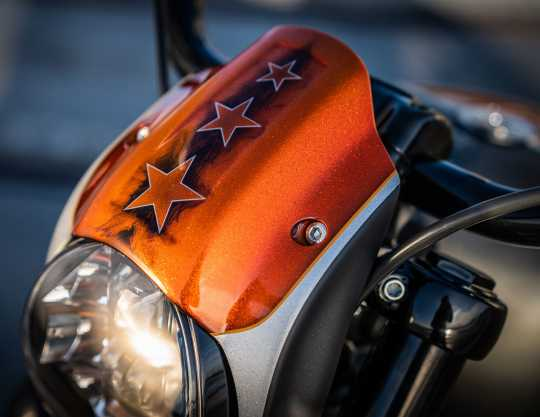 Thunderbike Headlamp Cap Alu raw  - 42-74-070