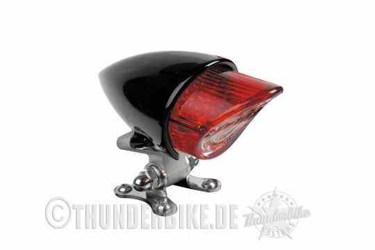 Thunderbike Rücklicht Bullet Schwarz matt - 43-99-470