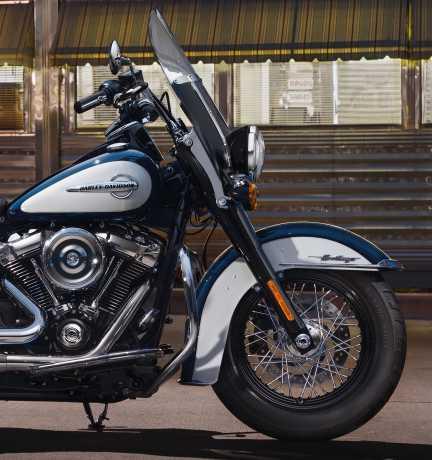 Harley-Davidson Willie G Skull Front Axle Nut Cover Kit chrome  - 43163-08A