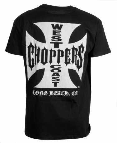 West Coast Choppers West Coast Choppers Cross T-Shirt, schwarz XL - 987121