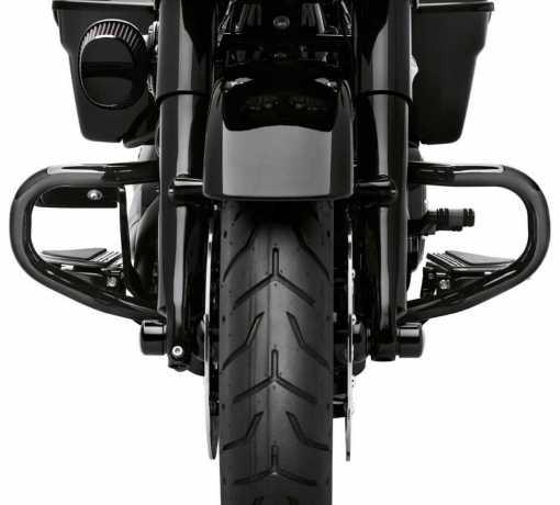 Harley-Davidson Chopped Motorschutzbügel schwarz  - 49000114A