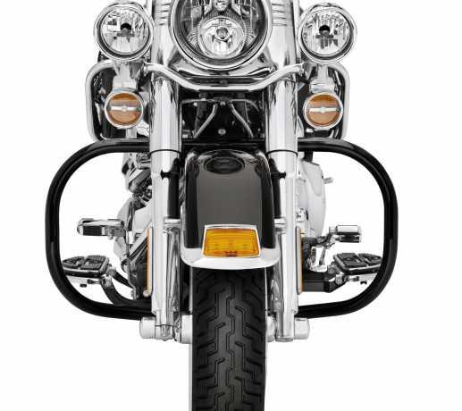 Harley-Davidson Engine Guard Kit, gloss black  - 49023-02A
