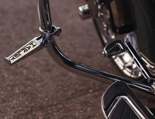 """Harley-Davidson Custom-Fußrasten mit """"Harley""""-Schriftzug  - 49102-86T"""