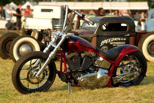 Thunderbike Handlebar Flip chrome  - 50-70-382V