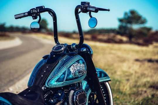 """Thunderbike Lenker El Toxico 1.25"""" Edelstahl roh - 50-70-560"""