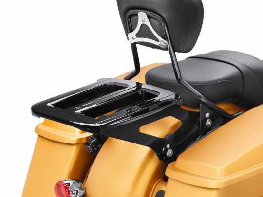 Harley-Davidson Verstellbarer Gepäckträger für Doppelsitzbank schwarz  - 50300076B