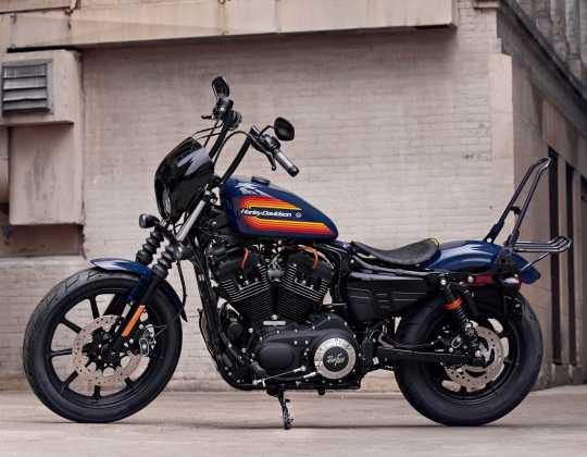 Harley-Davidson Diamond Black Fußrasten mit Verschleißstück  - 50500035