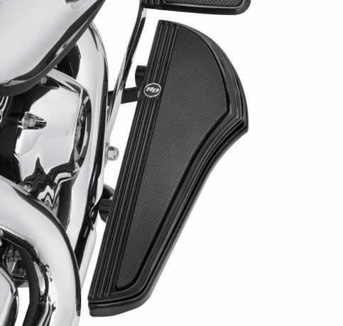 Harley-Davidson Defiance Rider Trittbretter Kit, schwarz  - 50500640