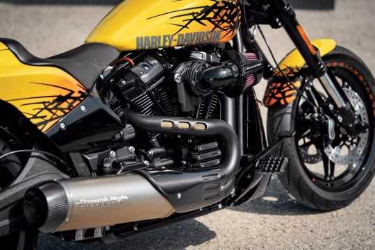 Harley-Davidson Dominion Rider Footpegs black  - 50500870