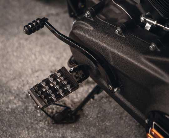 Harley-Davidson Dominion Rider Footpegs black  - 50500871