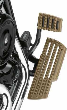 Harley-Davidson Dominion Fahrer Trittbrett Kit bronze  - 50500872