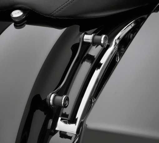 Harley-Davidson 4-Punkt Montage-Kit schwarz  - 52300354