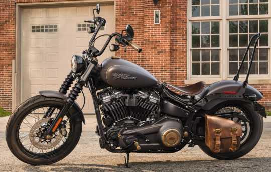 """Harley-Davidson One-Piece Tall Rigid Mount Sissy Bar 21"""" black  - 52300502"""