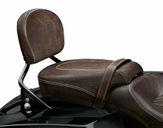 """Harley-Davidson Low Profile Soziussitz 11"""" Mahagoni Braun  - 52400040"""
