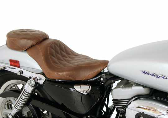 "Mustang Mustang Wide Tripper Solo Seat 12"" Diamond, brown  - 537048"