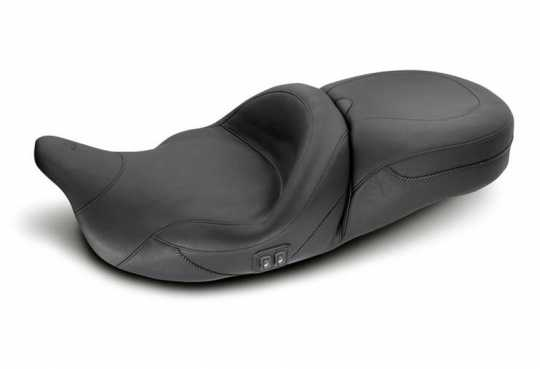 "Mustang Mustang Heated Super Touring Seat 19"", black  - 537065"
