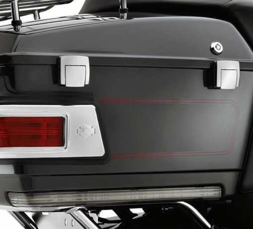 Harley-Davidson Tour-Pak Side Marker Light Kit - Smoked Lens  - 54352-09