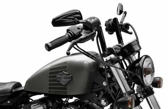 """Harley-Davidson Chizeled Lo Lenker 4"""" schwarz  - 55800431"""